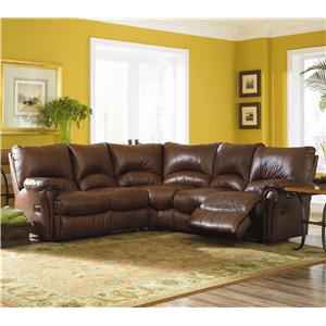 Lane Alpine Motion Sectional Sofa with Wedge and Armless Chair