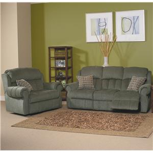 Lane Hawkeye Contour Cushioned Wall Saver Recliner