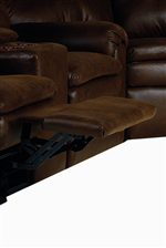 Comfortable Recliners With Padded Footrest