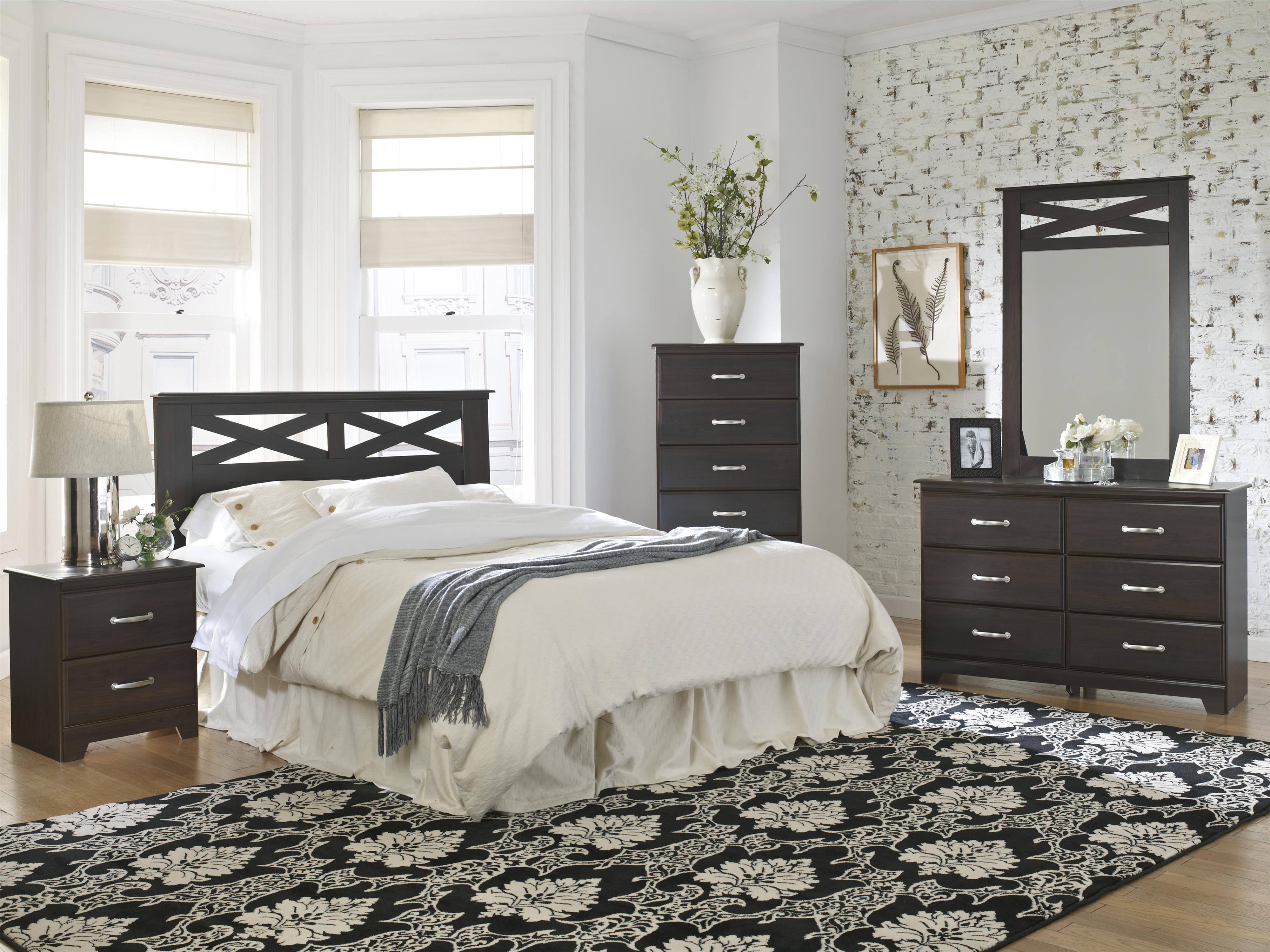 Lang Berlin Queen Bedroom Group   A1 Furniture & Mattress   Bedroom ...