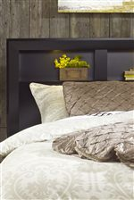 Select Headboards Offer Compartments for Storage with LED Lighting