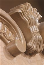 Features Traditional & Sophisticated Woodwork with Complex Detail