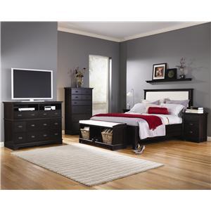 Lang Windward 2 Door Media Console A1 Furniture