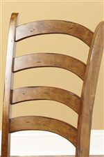 Curved Ladder Back Chairs