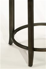 Metal Flared and Tapered Legs with Stretcher Support