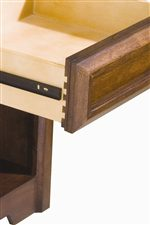 Constructed with Traditional English Dovetails