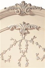 Delicate Carvings Add Texture & Elegance
