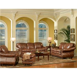 Leather Italia USA Duplin Stationary Living Room Group