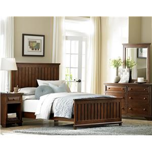 Legacy Classic  Dawson's Ridge - Right Size Queen Slatted Panel Bed