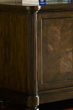 Fluted Pilasters Bring Texture