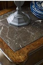 Marble Top Inserts on Select Pieces