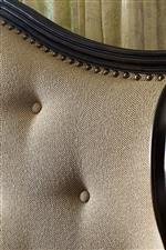Traditional Detailing with Nailhead Trim and Button Tufting