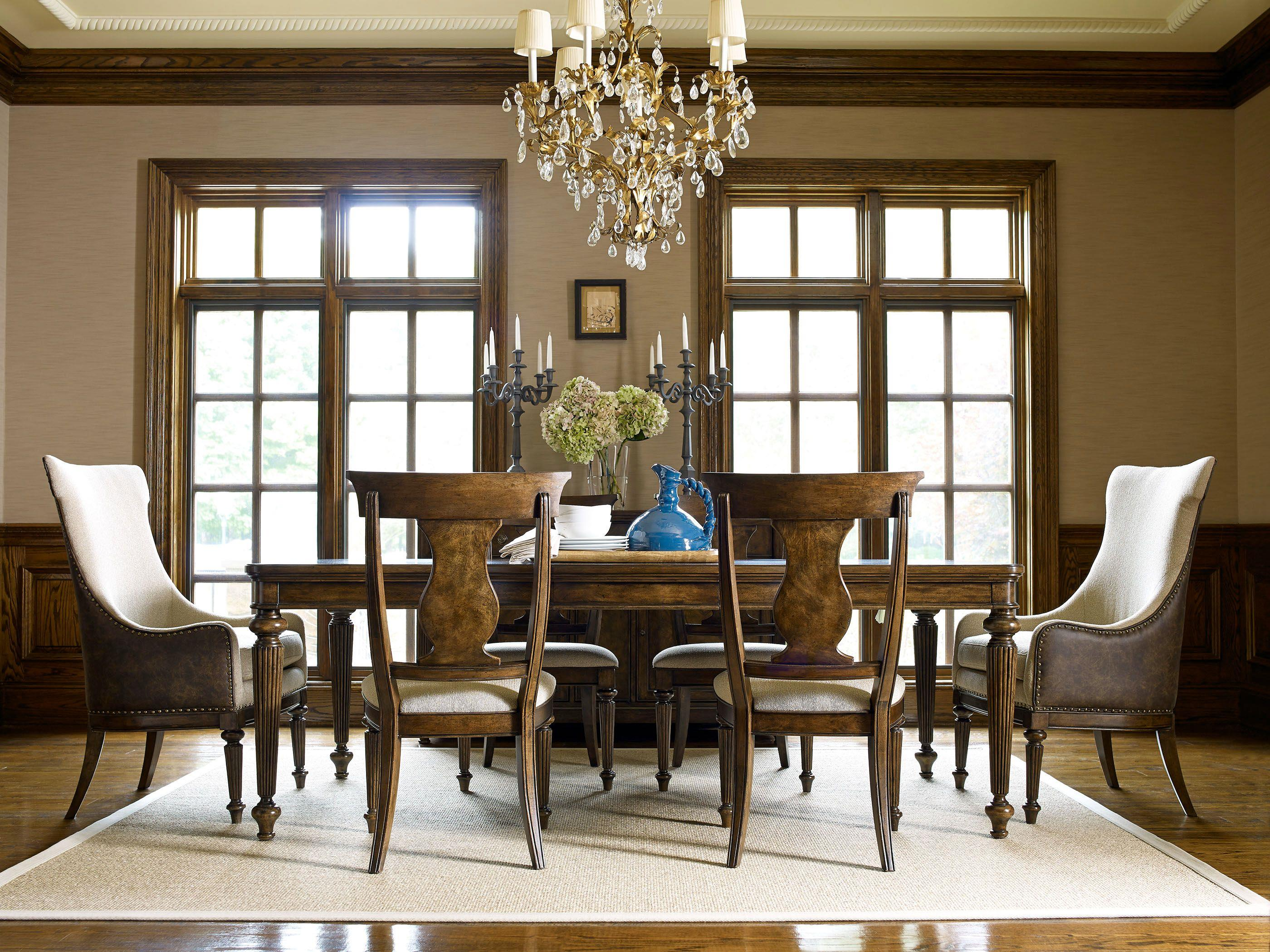 Legacy Classic Barrington Farm Formal Dining Room Group - Item Number: 5200 Dining Room Group 2