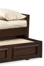 Optional Trundle Drawer Is Accommodated by All Bed Frames