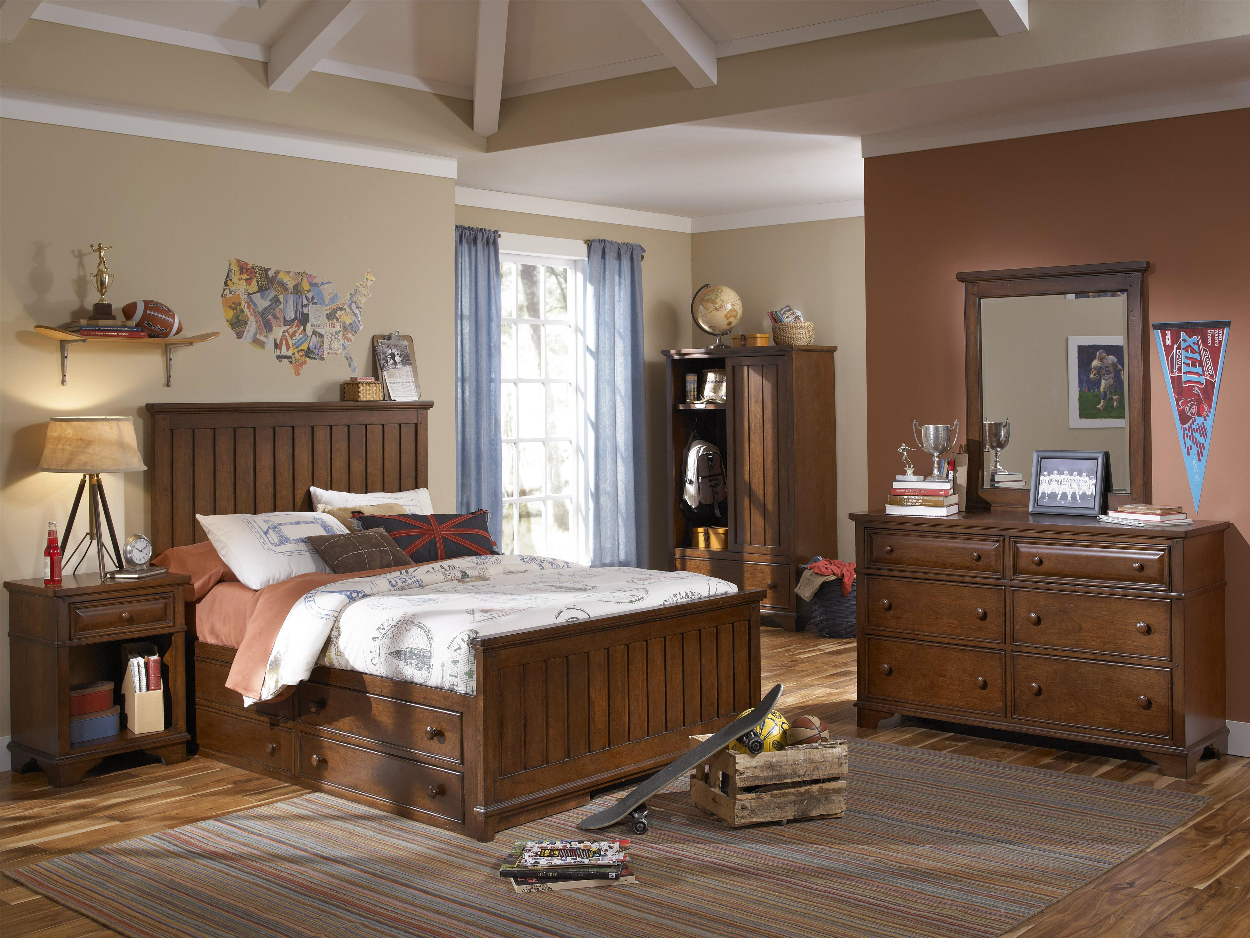 Legacy Classic Kids Dawsons Ridge Full Bedroom Group - Item Number: 2960 F Bedroom Group 3