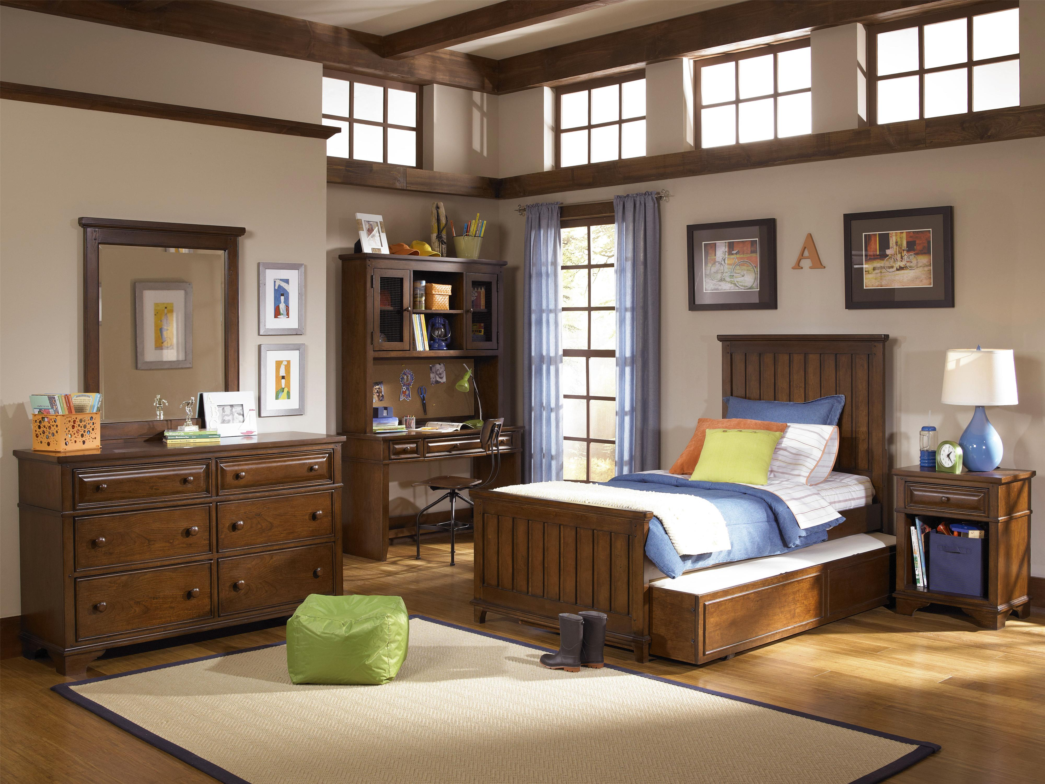 Legacy Classic Kids Dawsons Ridge Twin Bedroom Group - Item Number: 2960 T Bedroom Group 4