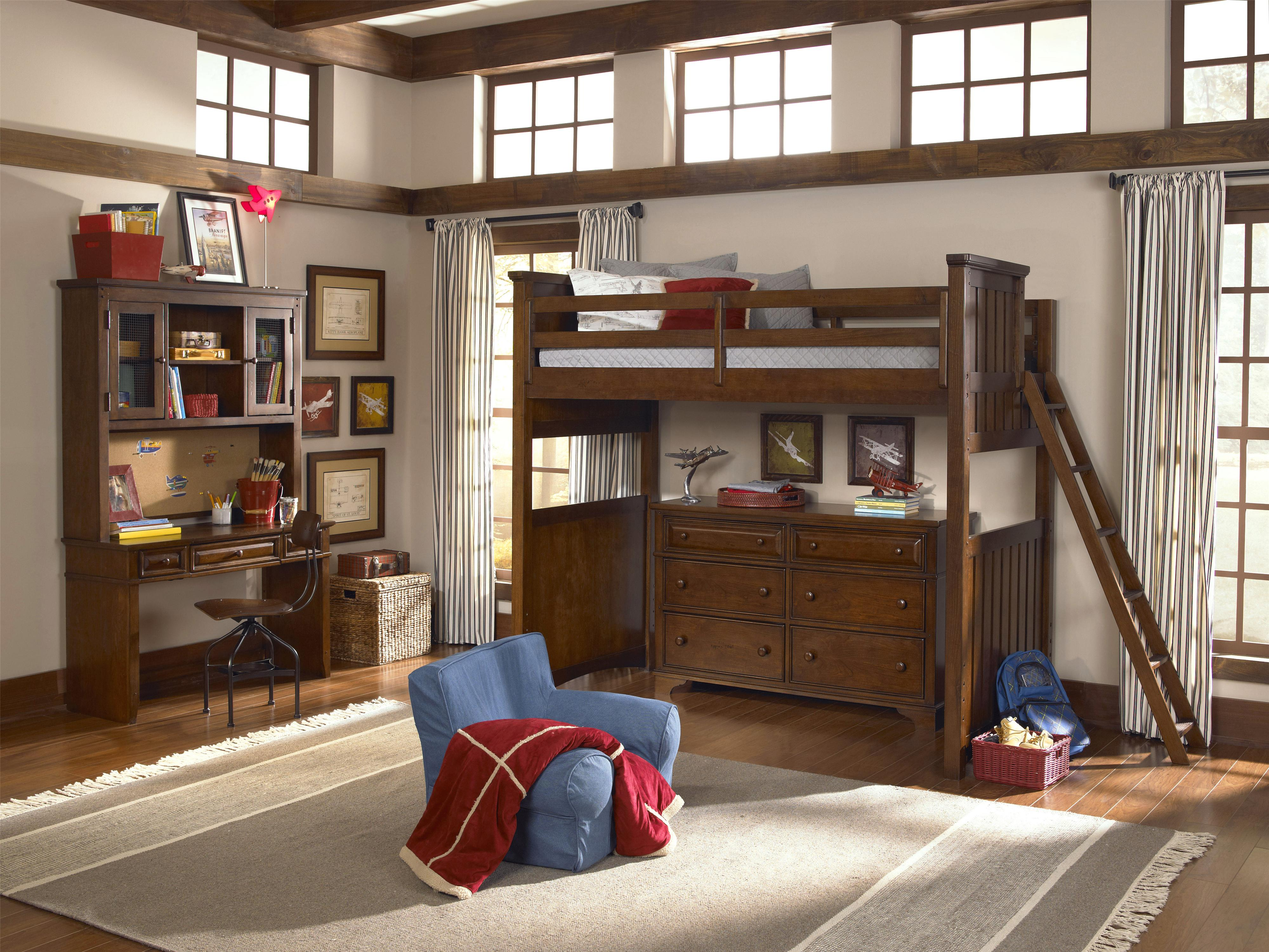 Legacy Classic Kids Dawsons Ridge Twin Bedroom Group - Item Number: 2960 T Bedroom Group 6