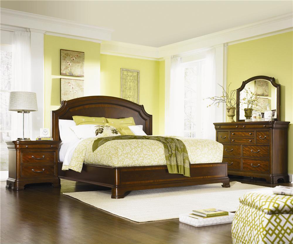 Legacy Classic Evolution Queen Bedroom Group - Item Number: 9180 Queen Bedroom Group 2