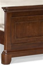 Smoothly Turned Corners and Traditional Paneling Details Throughout Collection