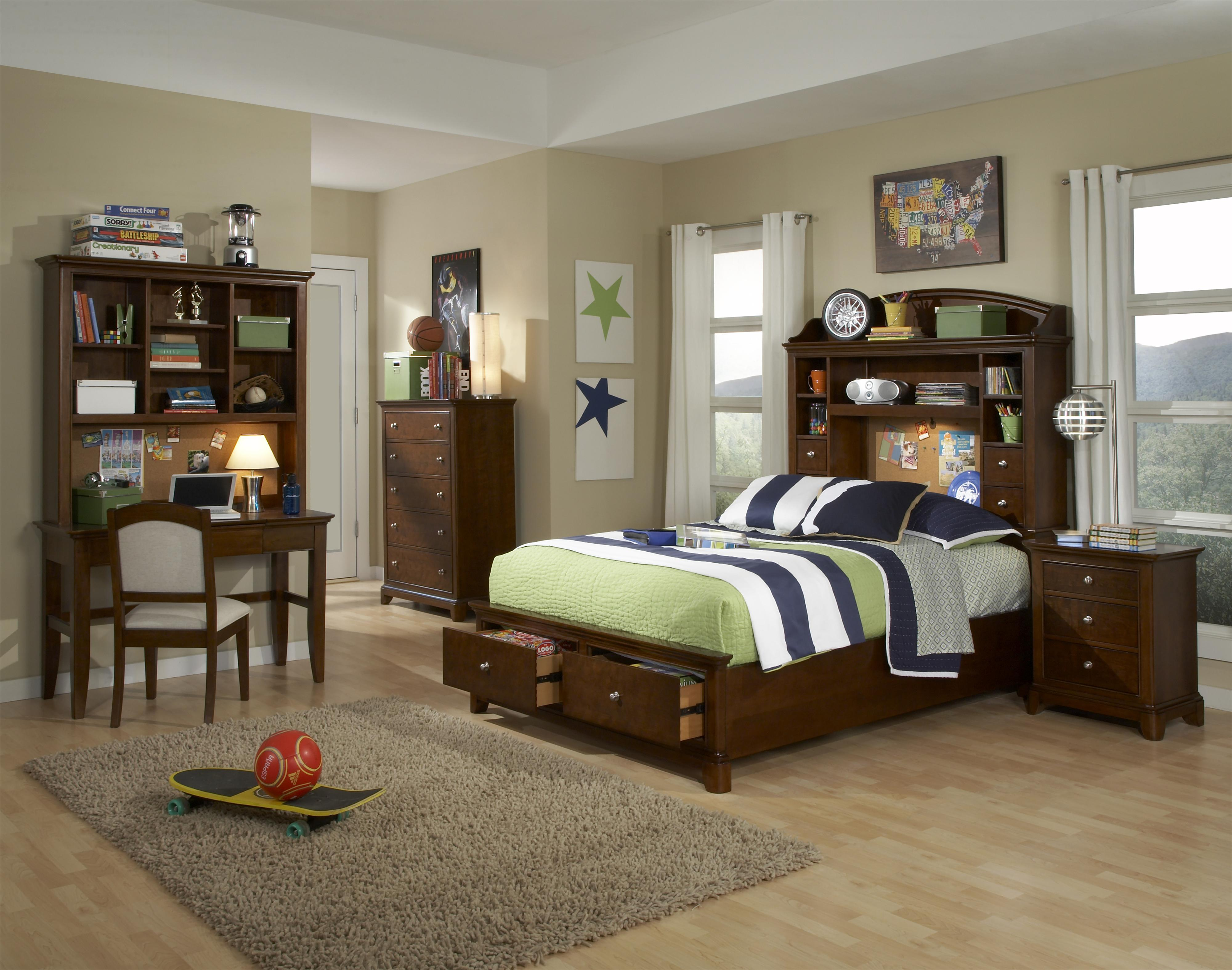 Legacy Classic Kids Impressions Twin Bedroom Group - Item Number: 2880 T Bedroom Group 1