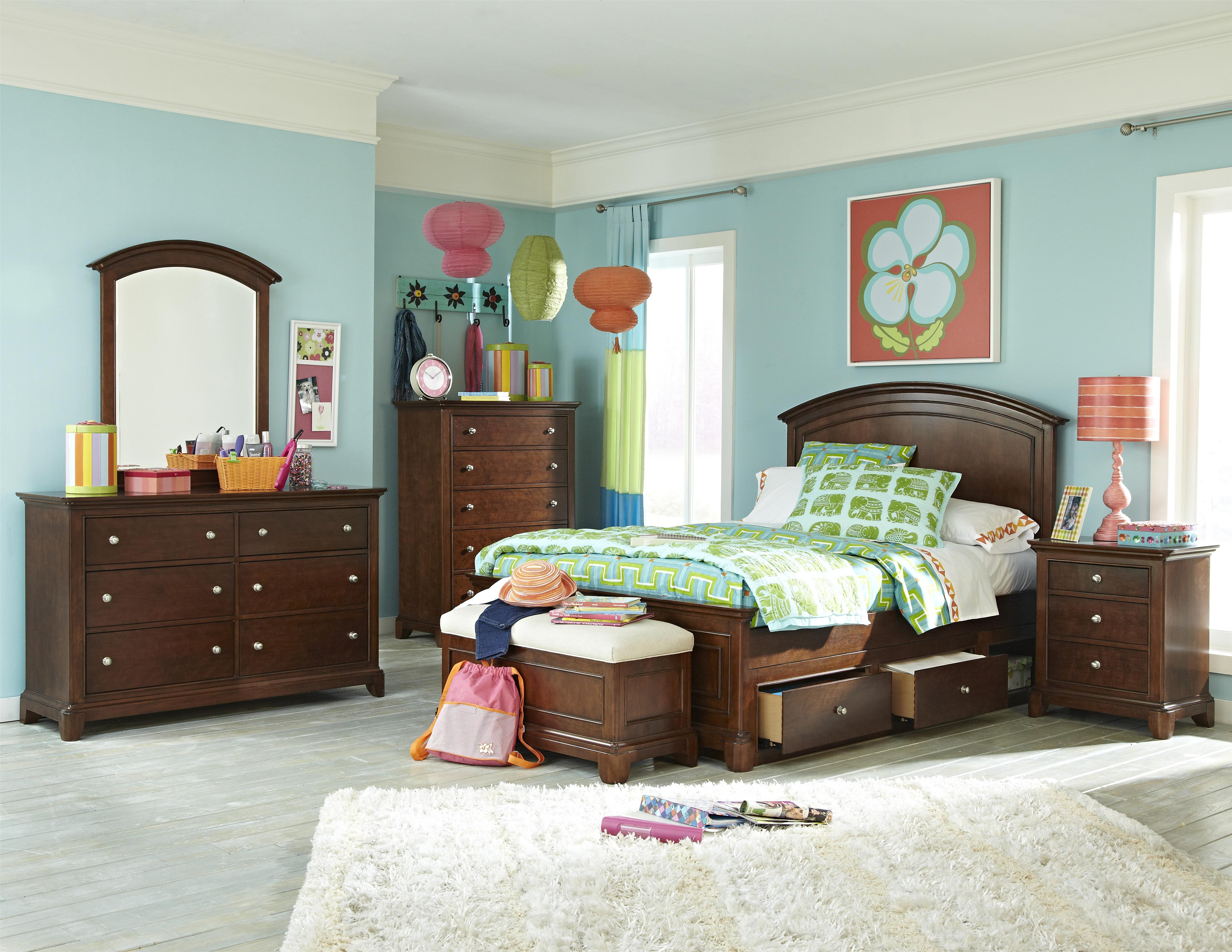 Legacy Classic Kids Impressions Full Bedroom Group - Item Number: 2880 F Bedroom Group 4