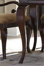 Cabriole Legs Highlight Elegant Shaping