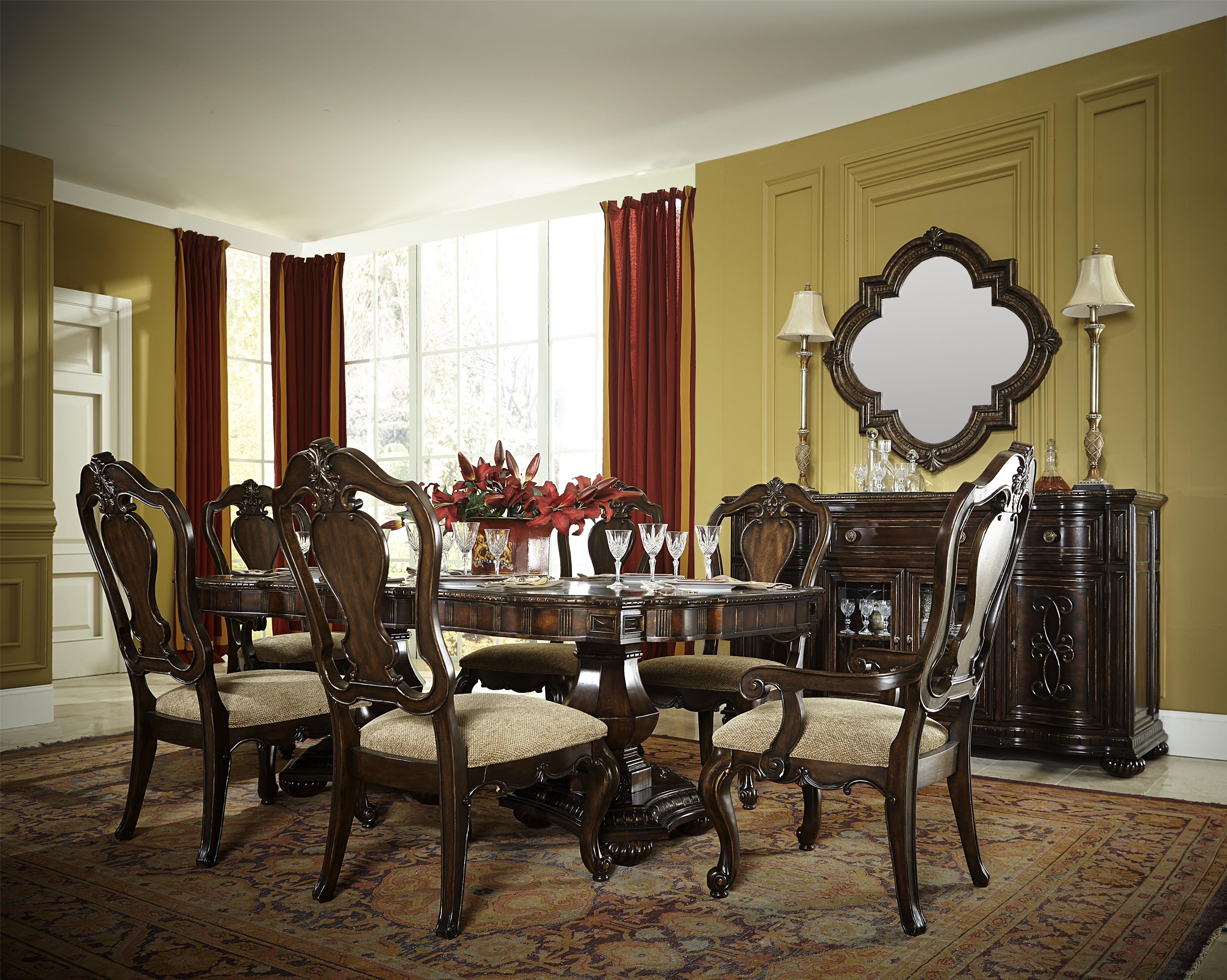 Legacy Classic La Bella Vita Formal Dining Room Group - Item Number: 4200 Dining Room Group 1