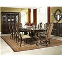 Legacy Classic La Bella Vita Formal Dining Room Group - Item Number: 4200 Dining Room Group 2