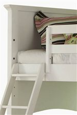 All Beds Feature Two Rail Heights to Accommodate Underbed Storage Options