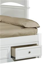 Optional Trundle Drawer and Underbed Storage Units Provide Accessible and Smart Storage Area