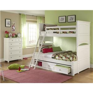 Legacy Classic Kids Madison Twin-Over-Full Bunk Bedroom Group