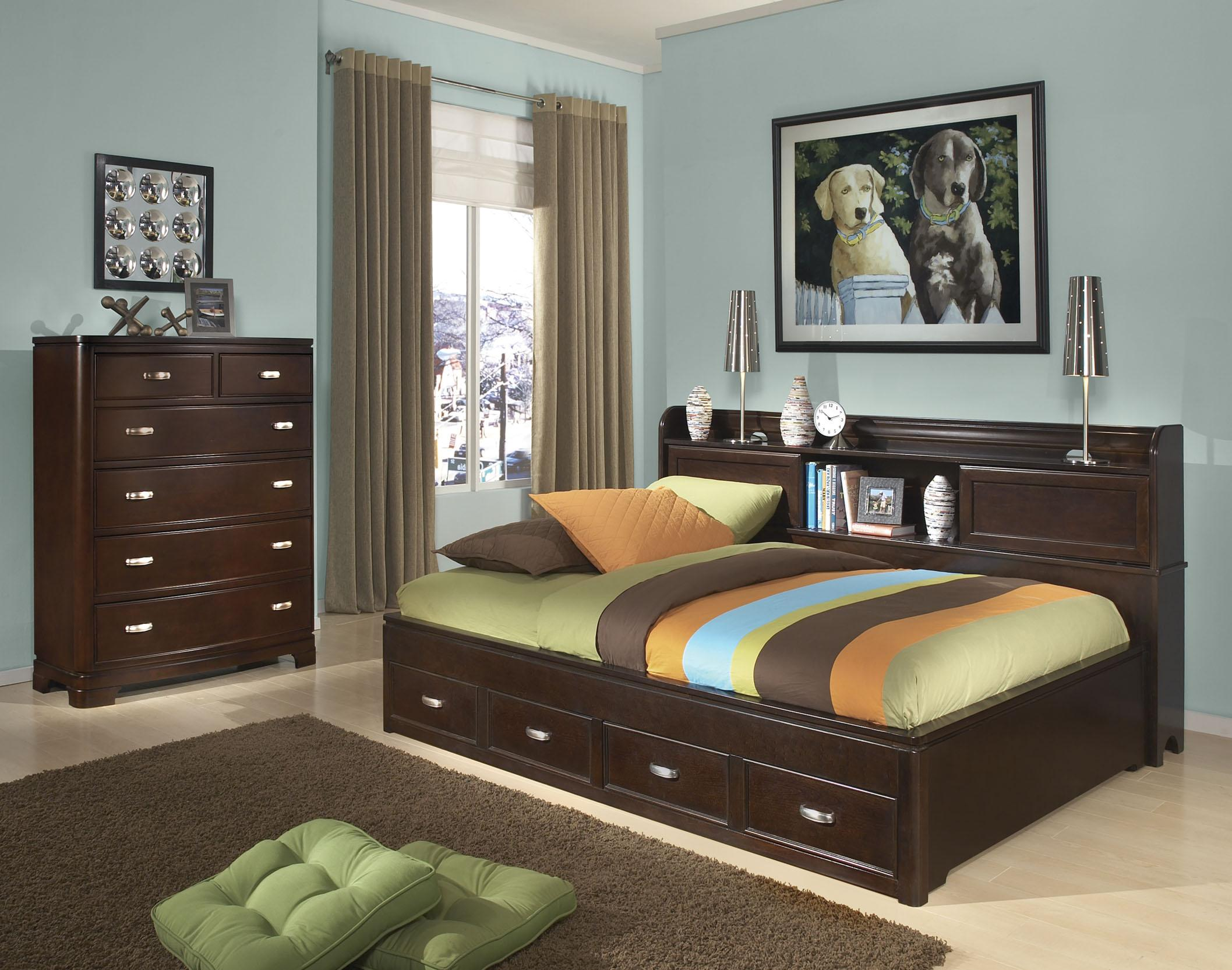 Legacy Classic Kids Park City Twin Bedroom Group - Item Number: 9980 T Bedroom Group 1