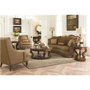 Legacy Classic Pemberleigh Stationary Living Room Group