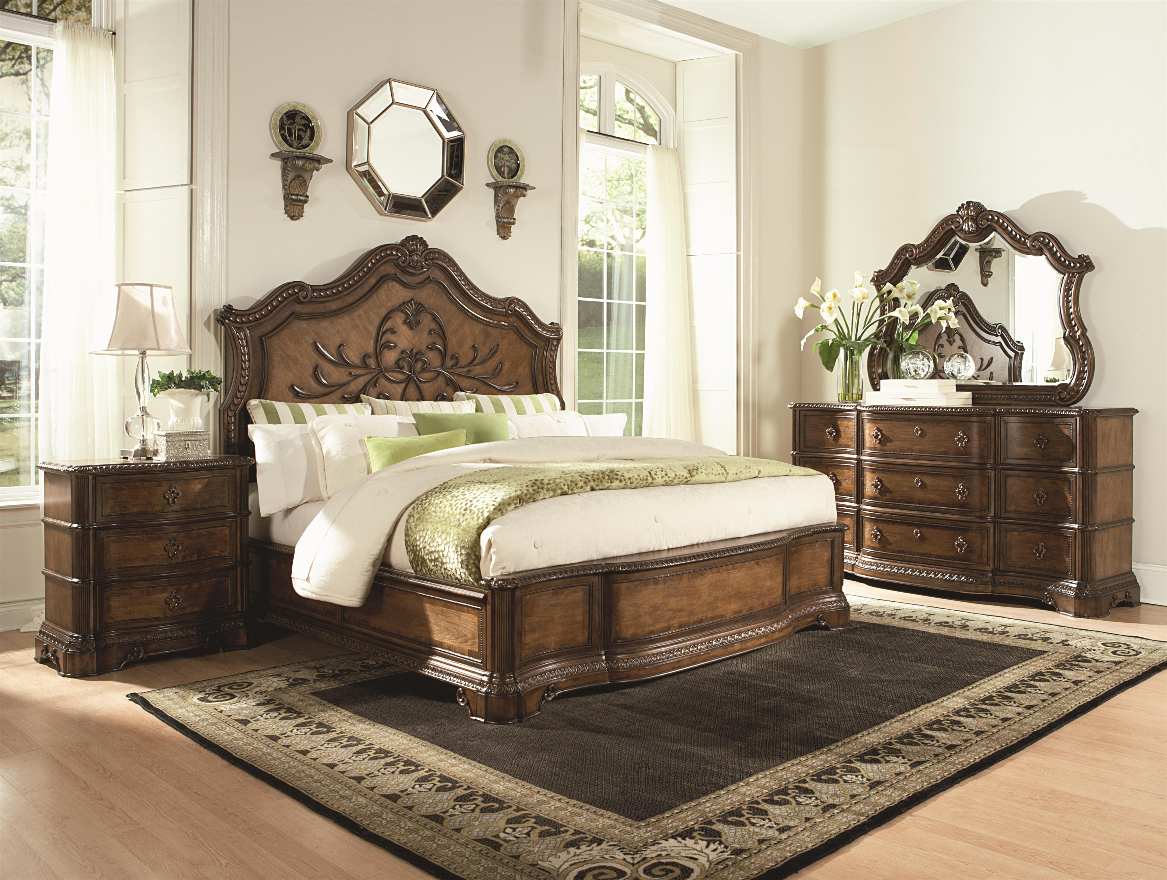 Legacy Classic Pemberleigh Queen Bedroom Group - Item Number: 3100 Q Bedroom Group 1