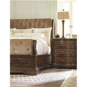 Legacy Classic Pemberleigh Bedside Chest with Marble Top
