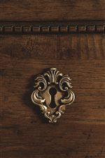 Escutcheon Key Hole on Drawer Fronts