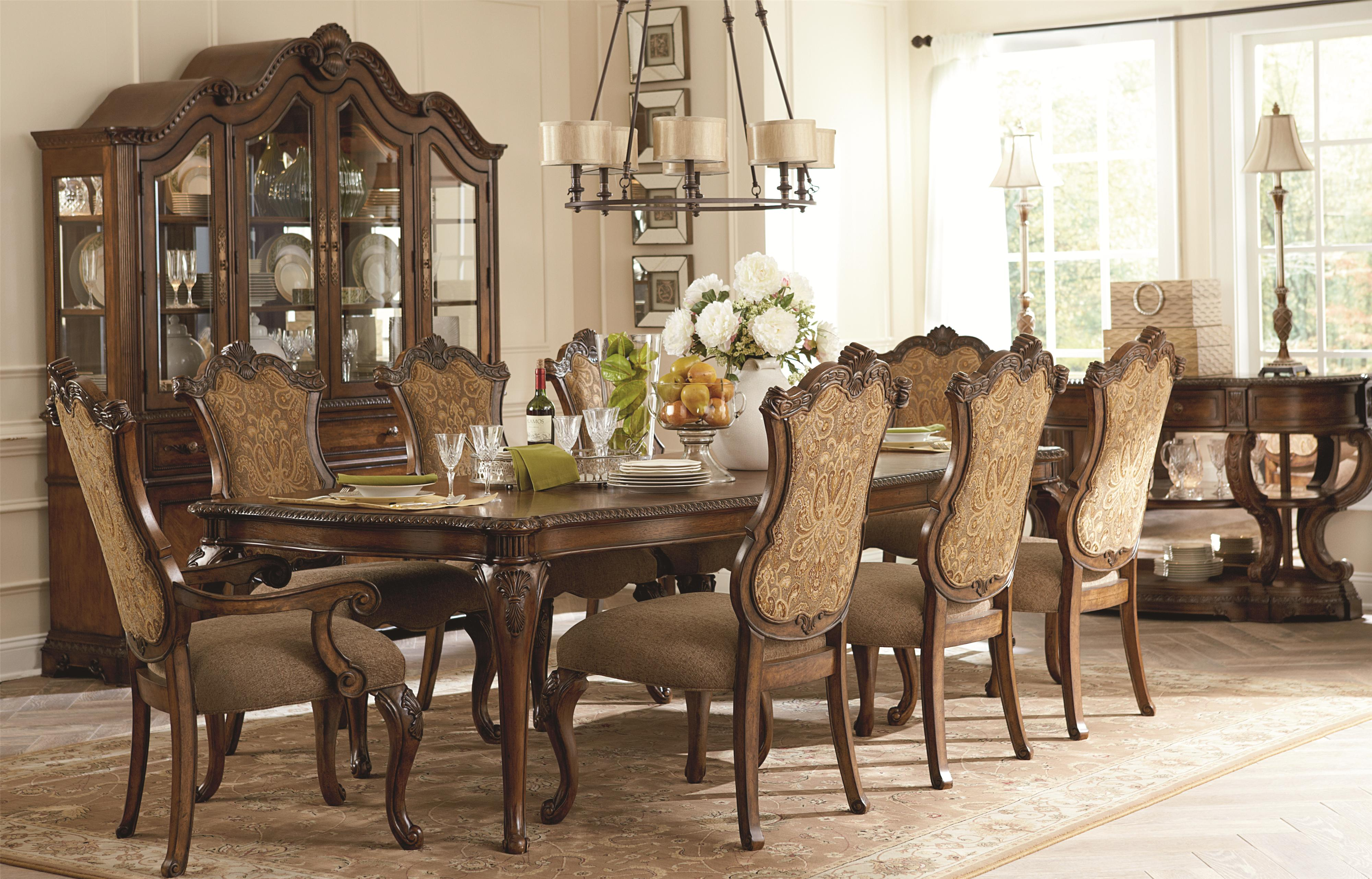 Legacy Classic Pemberleigh Formal Dining Room Group - Item Number: 3100 Formal Dining Room Group 4