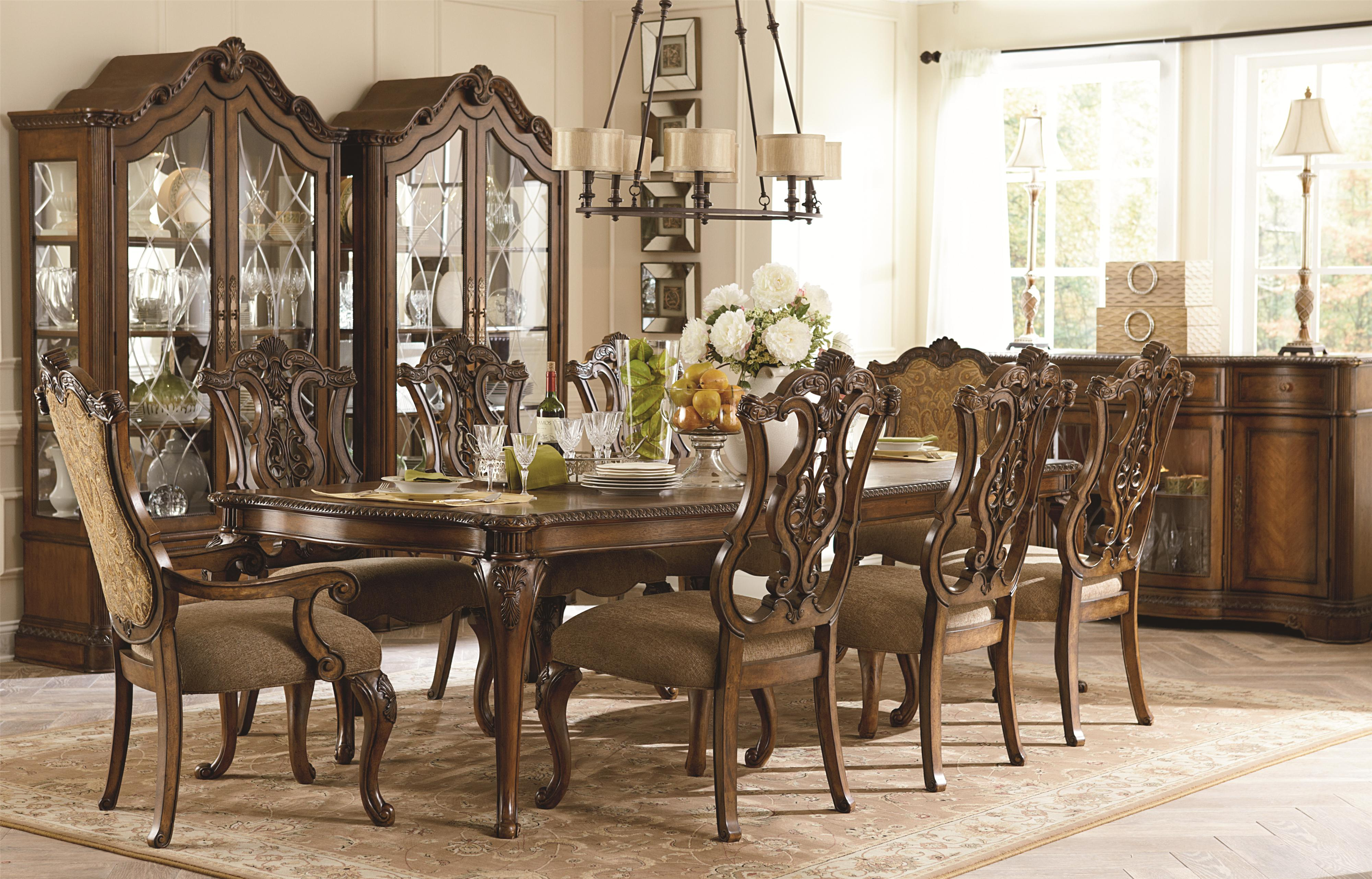 Legacy Classic Pemberleigh Formal Dining Room Group - Item Number: 3100 Formal Dining Room Group 5