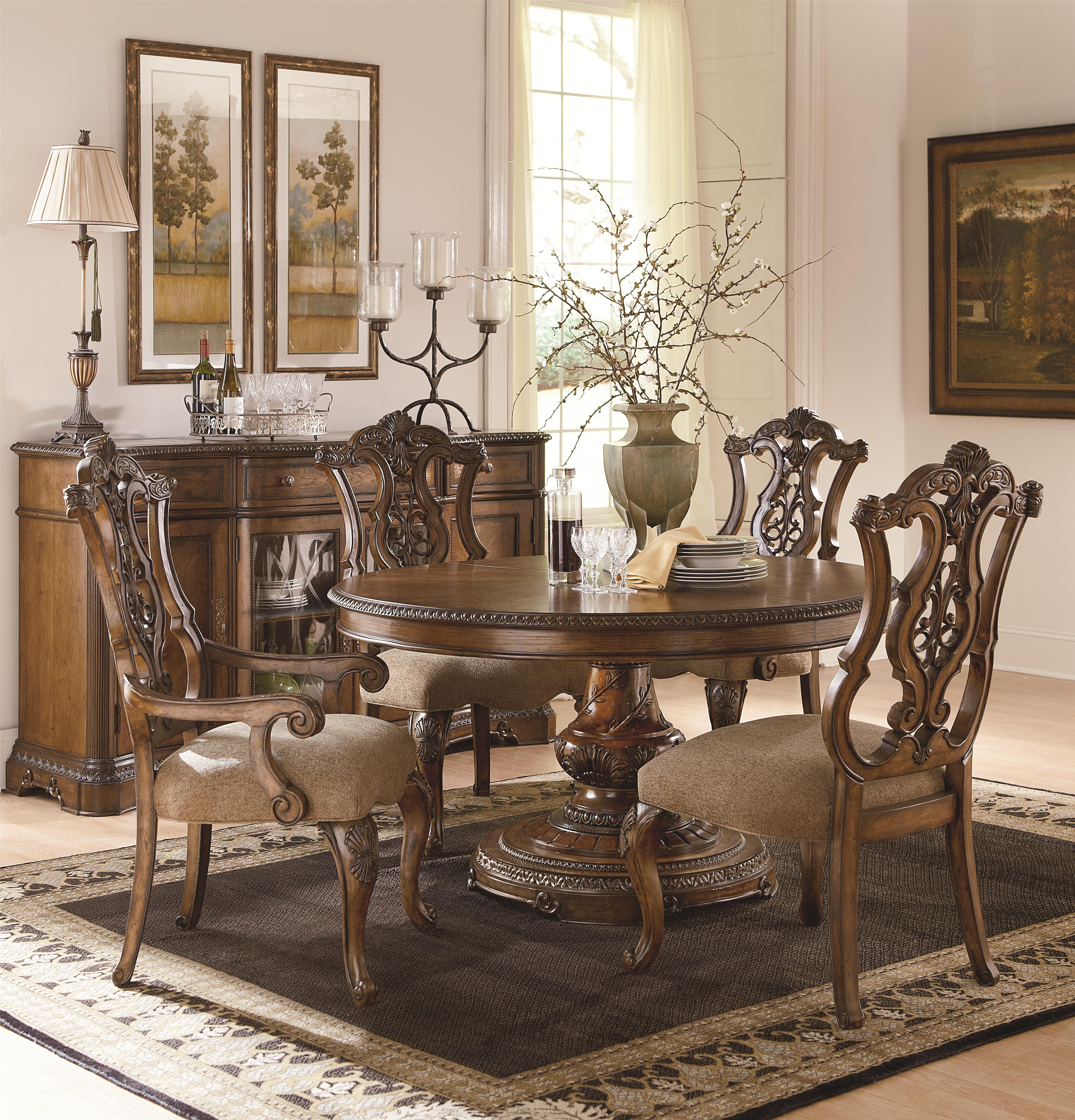 Legacy Classic Pemberleigh Formal Dining Room Group - Item Number: 3100 Formal Dining Room Group 7