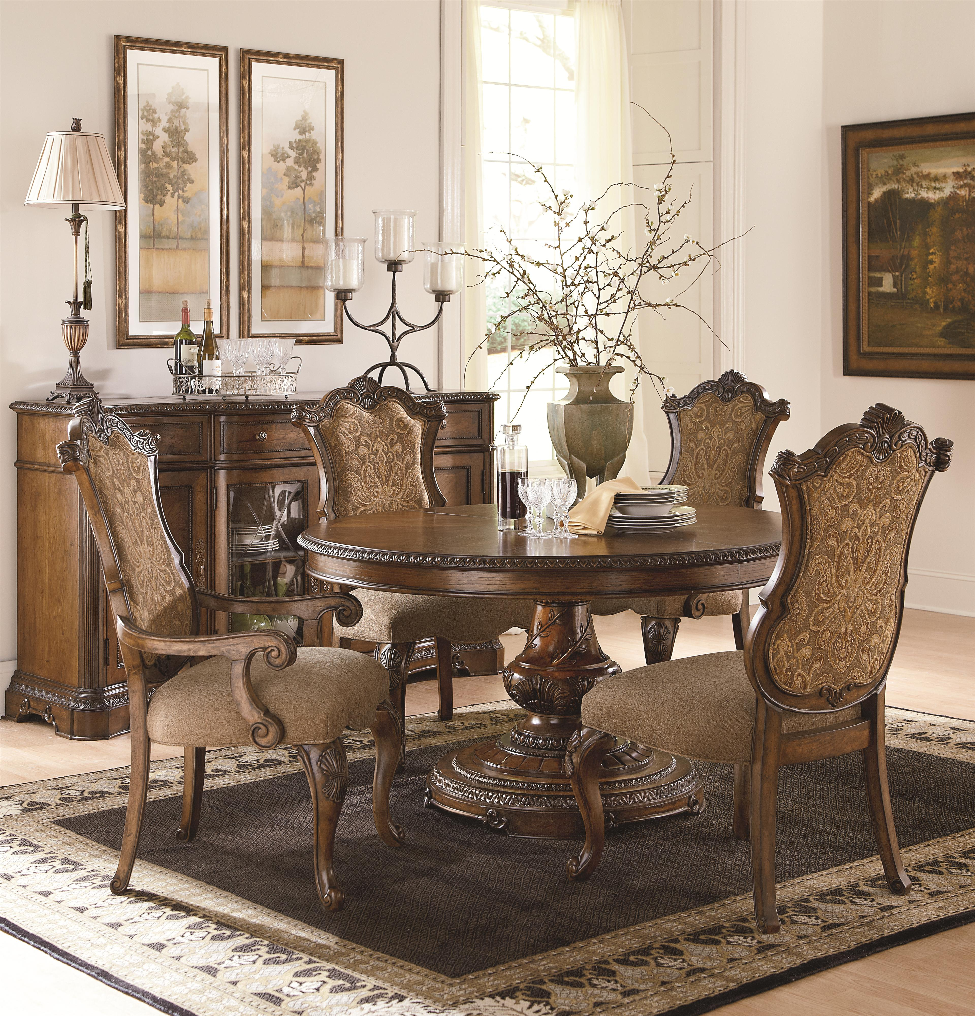 Legacy Classic Pemberleigh Formal Dining Room Group - Item Number: 3100 Formal Dining Room Group 8