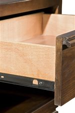 Smooth Metal Drawer Glides