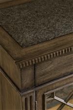 Marble Top Featured on Select Pieces