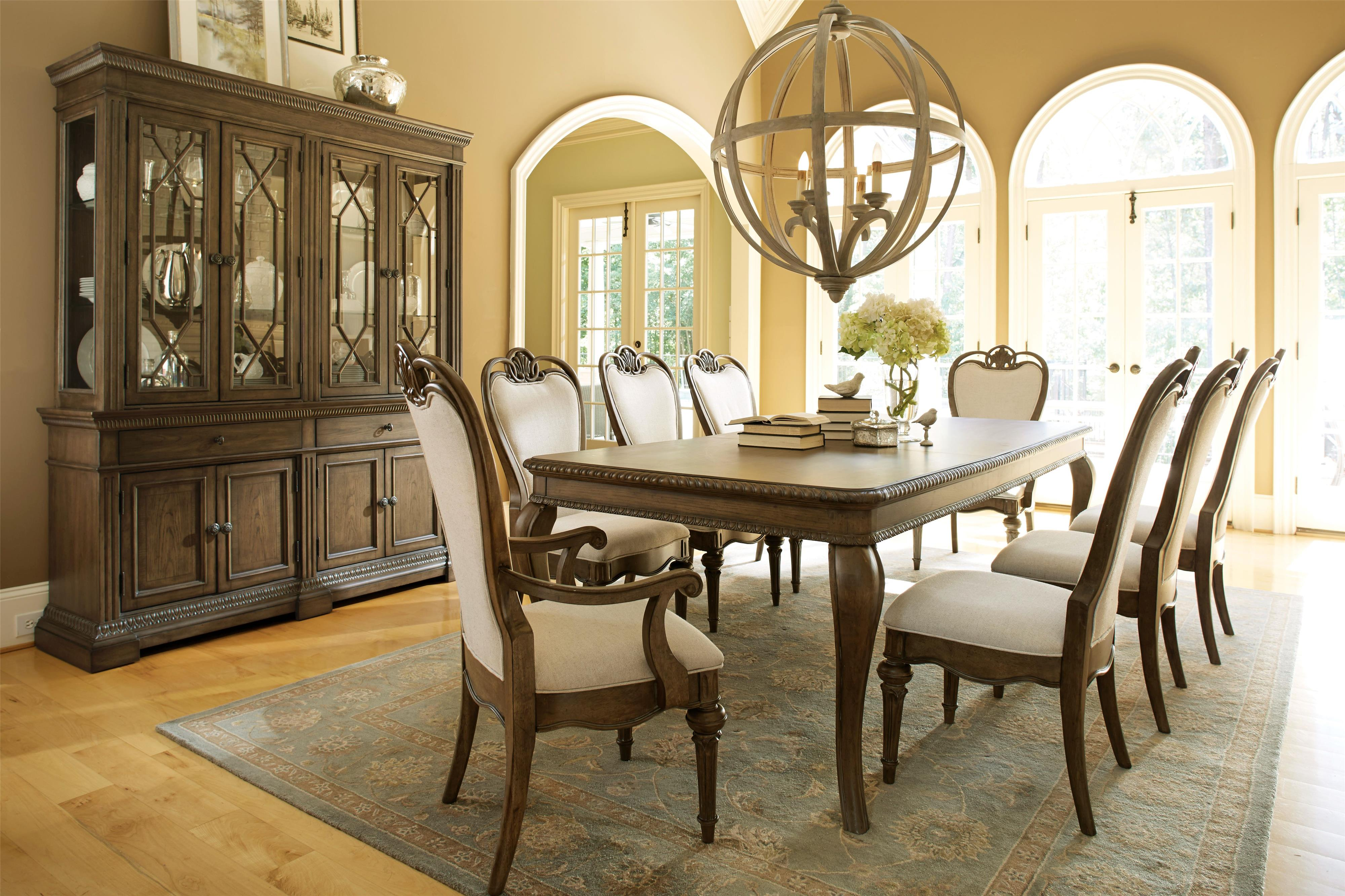 Legacy Dining Room Furniture Legacy Classic Renaissance 9 Piece Formal Dining Room Group