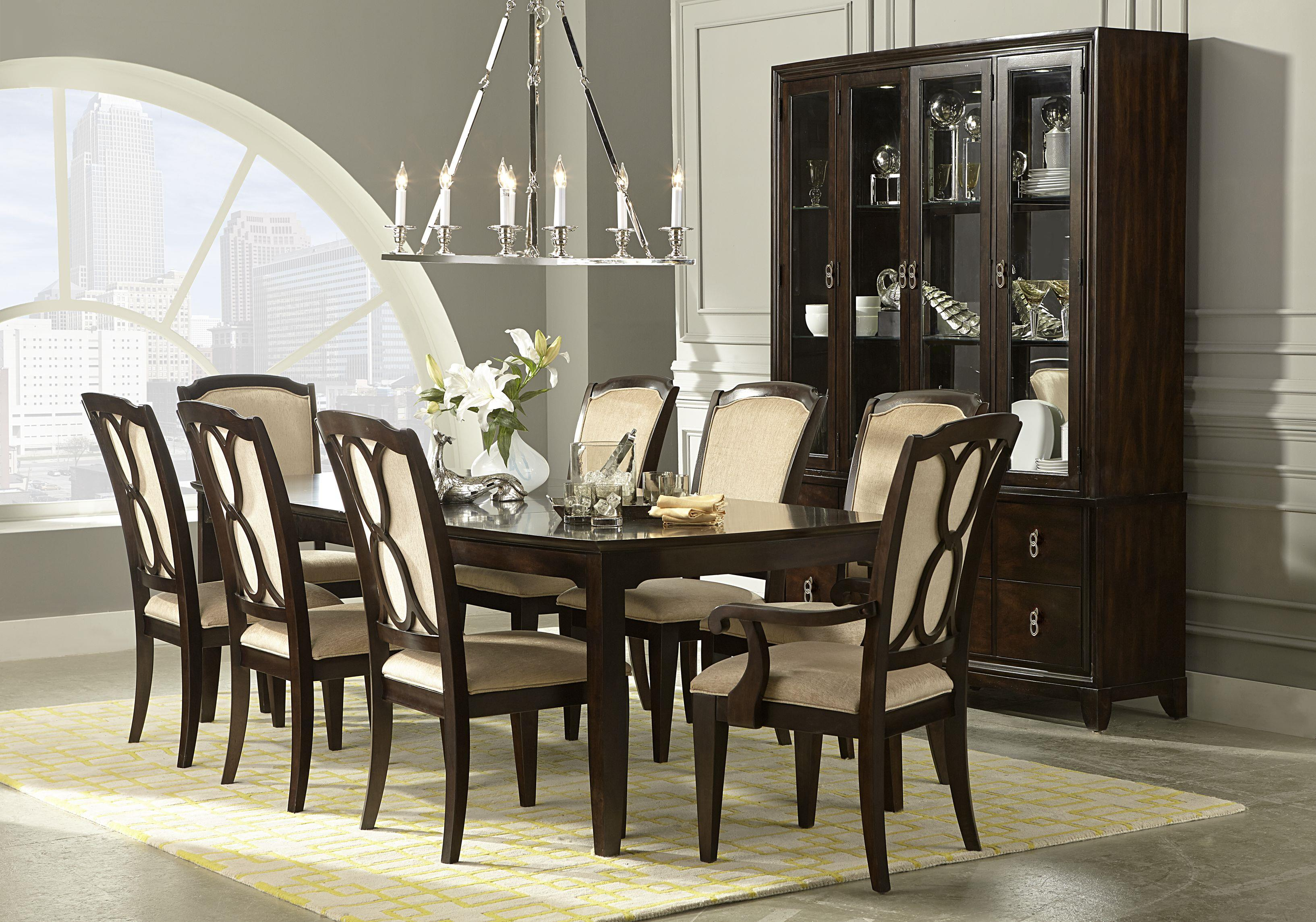 Legacy Dining Room Furniture Scarlett 7 Piece Dining Table Amp Chair Set Rotmans Dining 7 Or