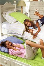 Optional Trundle Unit is Great For Sleepovers and Girl Time!