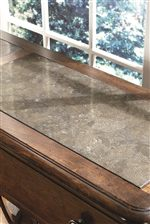 Stone Top on Credenza