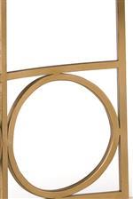 Metal Frames with Circular Designs