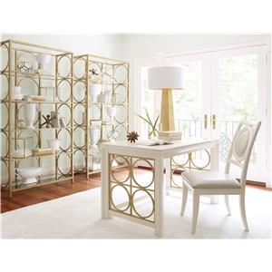 Legacy Classic Tower Suite Dresser Mirror with Round Inset