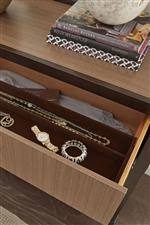 Drawer Features like Jewelry Trays, Felt Lining, and Cedar Lining Protect Your Possessions