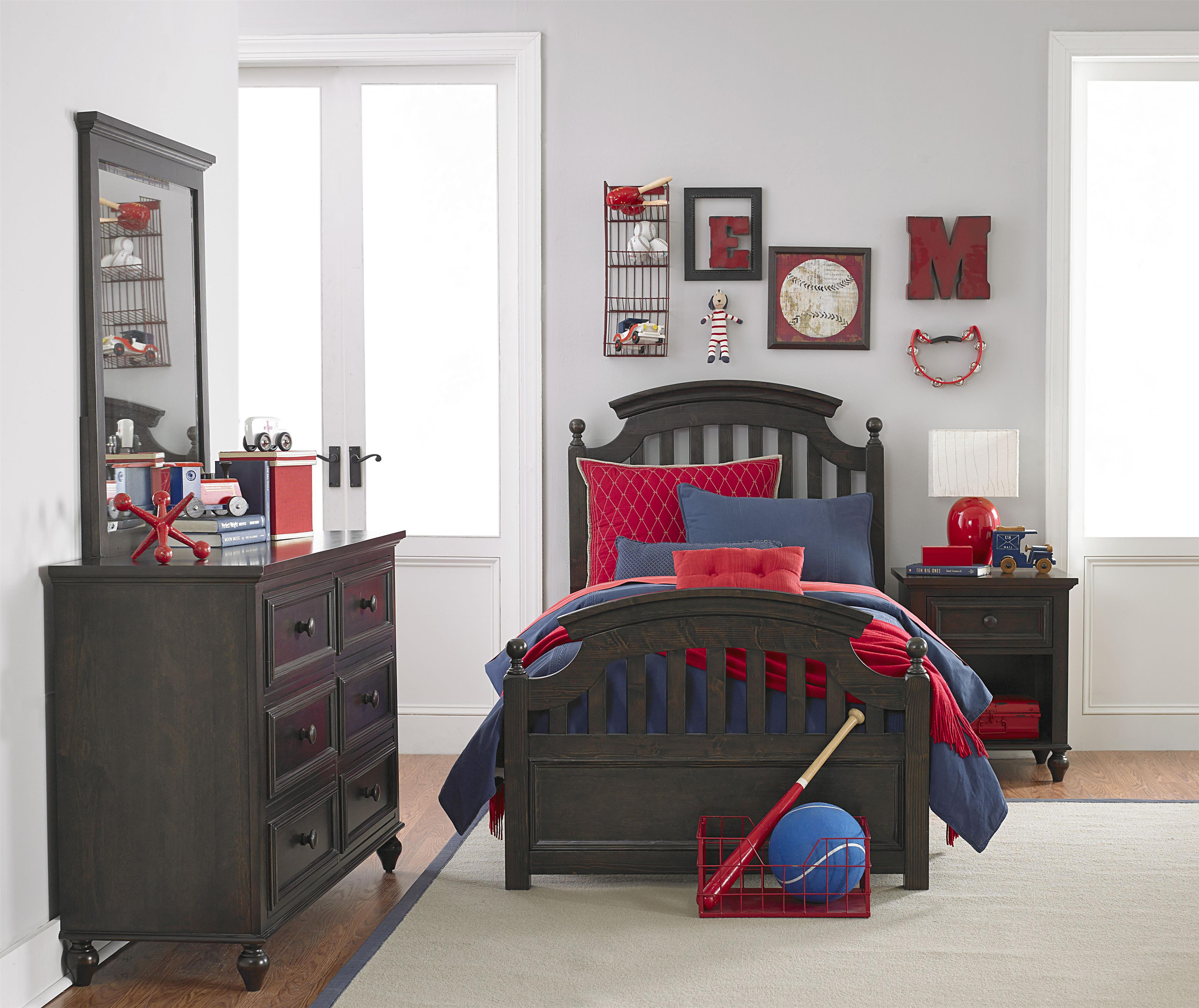 Legacy Classic Kids Academy Full Bedroom Group - Item Number: 5810 F Bedroom Group 1